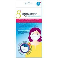 ORGAKIDDY Masque Anti-Projection Adulte x5