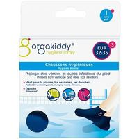 ORGAKIDDY Chaussons Hygiéniques S 32-35