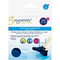 ORGAKIDDY Chaussons Hygiéniques XS 27-31