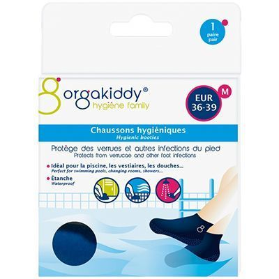 ORGAKIDDY Chaussons Hygiéniques M 36-39