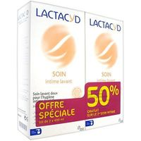 LACTACYD Intimo Soin Intime Lavant 2x400ml