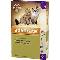 BAYER Advocate Antiparasitaire Grands Chats 3x0,8ml