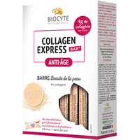 BIOCYTE Collagen Express Bar au Chocolat Blanc 6 barres