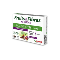 ORTIS Fruits & Fibres Regular Transit Intestinal Programme 12 cubes