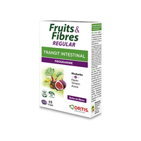 ORTIS Fruits & Fibres Regular Transit Intestinal Programme 15 comprimés