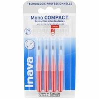 INAVA Mono Compact Large 1,5mm - 4  Brossettes Interdentaires