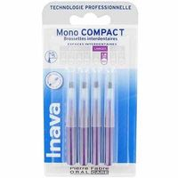 INAVA Mono Compact Large 1,8mm - 4  Brossettes Interdentaires