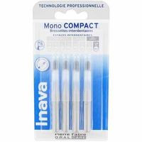 INAVA Mono Compact Très Large 2,6mm - 4  Brossettes Interdentaires