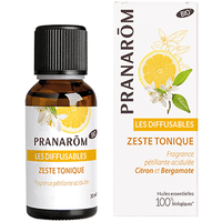 PRANAROM Les Diffusables Zeste Tonique Bio 30ml