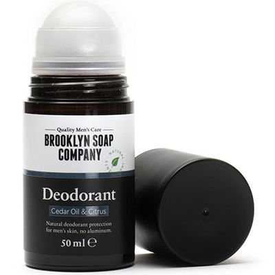 BROOKLYN SOAP Déodorant Huile de Cèdre & Agrumes 50ml