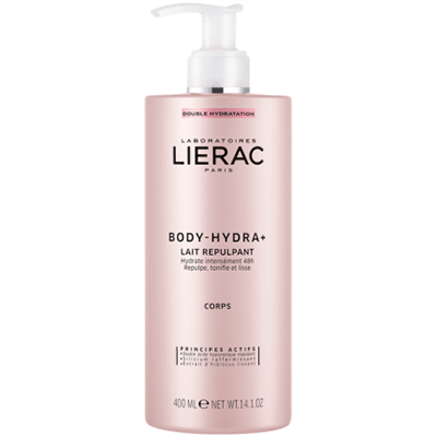 LIERAC Body Hydra+ Lait Repulpant 400ml
