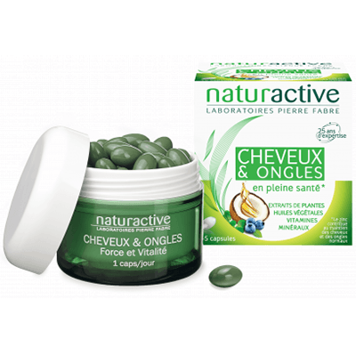 NATURACTIVE Cheveux & Ongles 45 capsules
