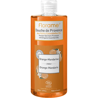 FLORAME Gel Douche de Provence Orange-Mandarine Bio 500ml