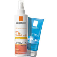 LA ROCHE POSAY Anthelios XL Spray SPF50+ 200ml + Lipikar Gel Lavant 100ml OFFERT