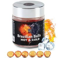 SECRET PLAY Brazilian Balls Lubrifiant Effet Chaud/Froid x6