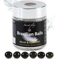 SECRET PLAY Brazilian Balls Lubrifiant Relaxant x6