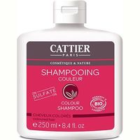 CATTIER Shampooing Cheveux Colorés Sans Sulfates Bio 250ml