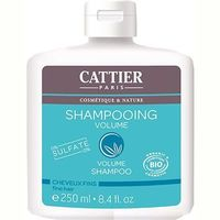 CATTIER Shampooing Volume Sans Sulfates Bio 250ml