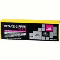 BICARE PLUS Dentifrice au Charbon 75ml