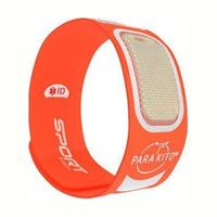 PARAKITO Sport Edition Bracelet Anti-Moustiques Orange