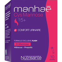 NUTRISANTE Manhaé Cys Mannose 10 sticks