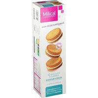 MILICAL Biscuits Fourrés Coco x12