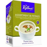 YSONUT La Rythmo Assortiment de Potages 7 sachets