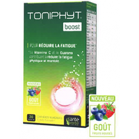 SANTE VERTE Toniphyt Boost Fruits Rouges 30 comprimés