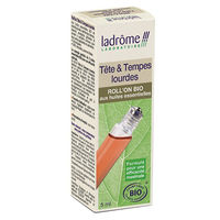 LADROME Tête & Tempes Lourdes Roll'On Bio 5ml