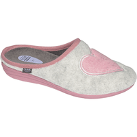 SCHOLL CREAMY HEART Gris Clair Rose Pointure 38