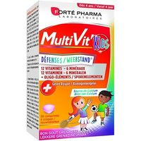 FORTE PHARMA MultiVit'Kids Défenses 30 comprimés