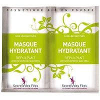 SECRETS DES FEES Masque Hydratant Repulpant Bio 2x4,5g