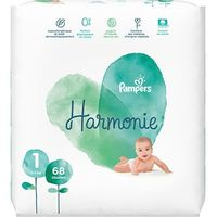 PAMPERS Harmonie Taille 1 (2-5kg) 68 couches