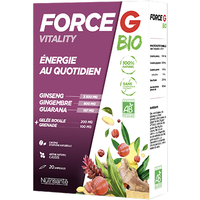 NUTRISANTE Force G Bio Vitality 20 ampoules
