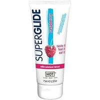 HOT Superglide Lubrifiant Comestible Framboise 75ml