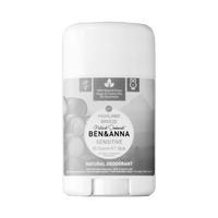 BEN & ANNA Déodorant Naturel Peaux Sensibles Highland Breeze Stick 60g