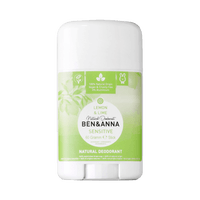 BEN & ANNA Déodorant Naturel Peaux Sensibles Lemon & Lime Stick 60g