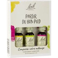BACH ORIGINAL Kit Partir du Bon Pied 3x10ml