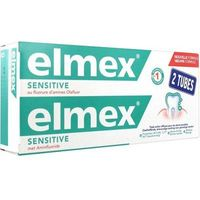 ELMEX Sensitive Dentifrice Lot 2x75ml