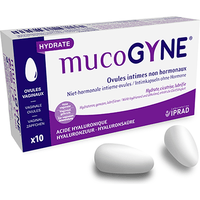 MUCOGYNE Ovules Intimes non Hormonaux x10