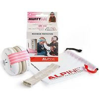 ALPINE Hearing Protection Muffy Baby Casque Anti Bruit Rose