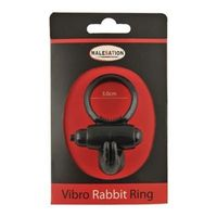 MALESATION Vibro Rabbit Ring Noir