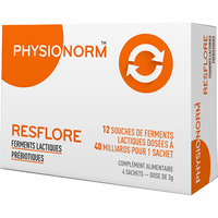 PHYSIONORM Resflore 8 sachets