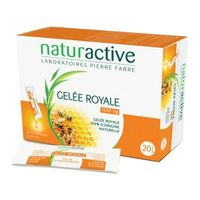 NATURACTIVE Gelée Royale 1500mg 20 sticks fluides