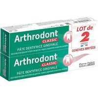 ARTHRODONT Classic Pâte Dentifrice Gingivale Lot 2x75ml