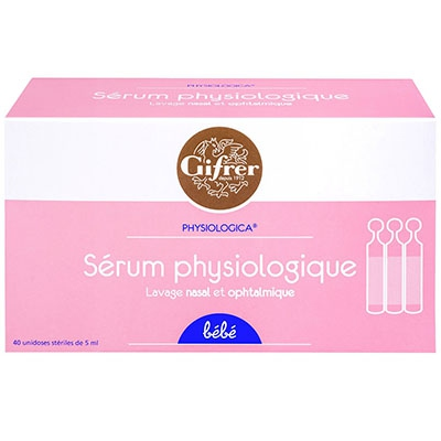 GIFRER Sérum Physiologique - 40x5ml