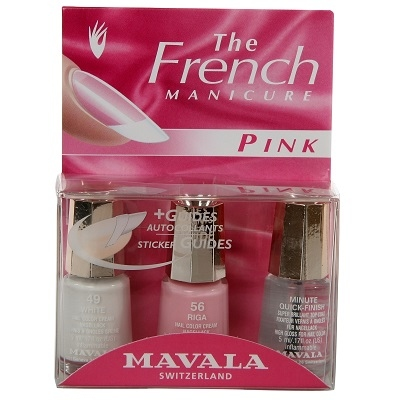 MAVALA Kit French Manucure Pink