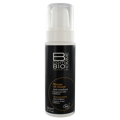 B COM BIO Homme Mousse de Rasage Anti-Irritations