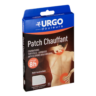 URGO PATCH CHAUFFANT DECONTRACTANT
