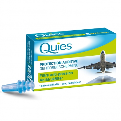 QUIES Protection Auditive Spécial Avion Adulte